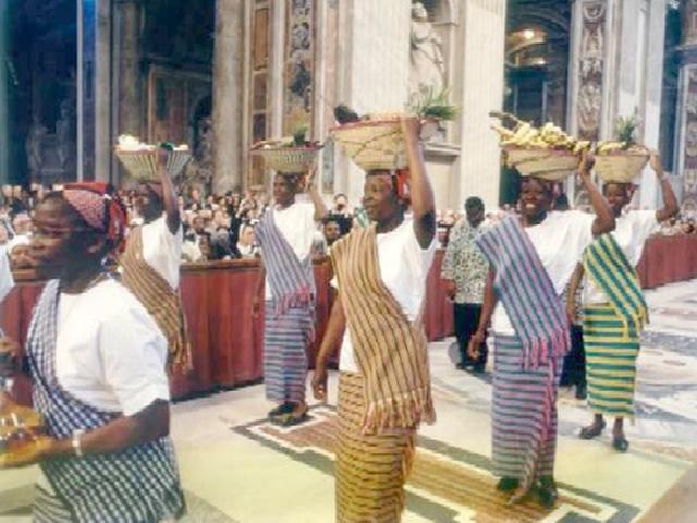 African Women Celebrate Mass at Vatican