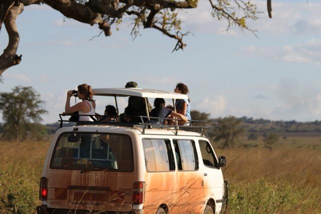 Family Road Trip in Uganda